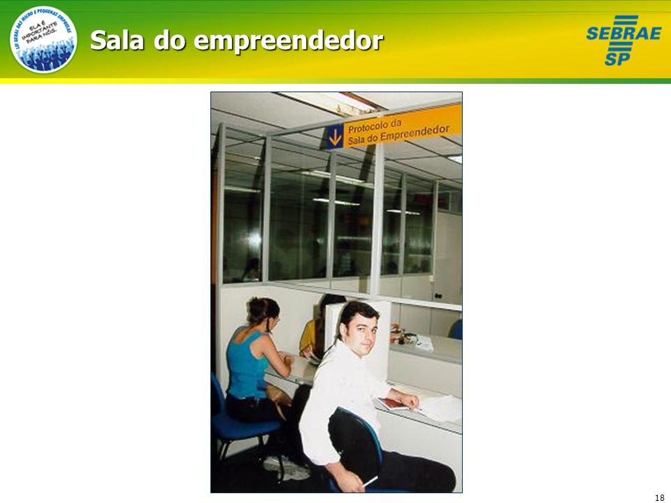 Sala do empreendedor