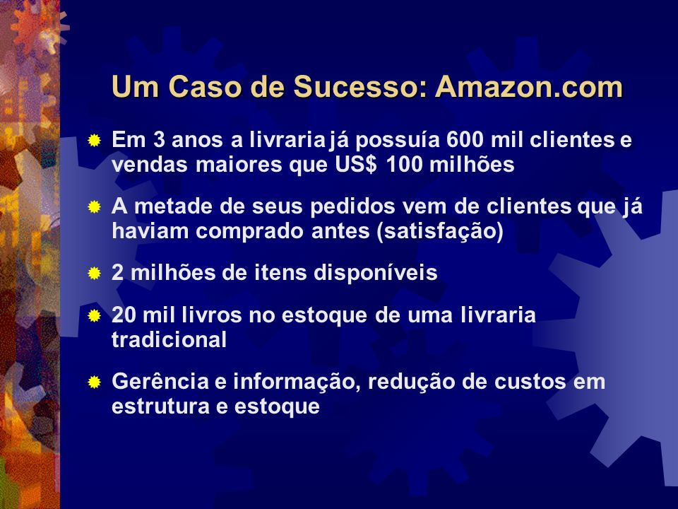 Um Caso de Sucesso: Amazon.com