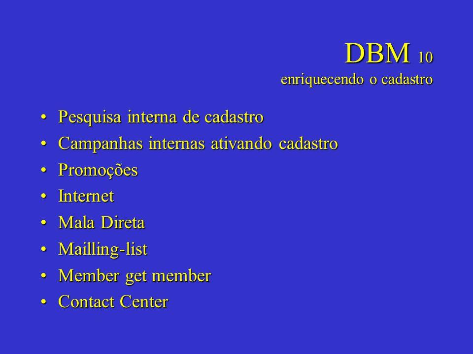 DBM 10 enriquecendo o cadastro