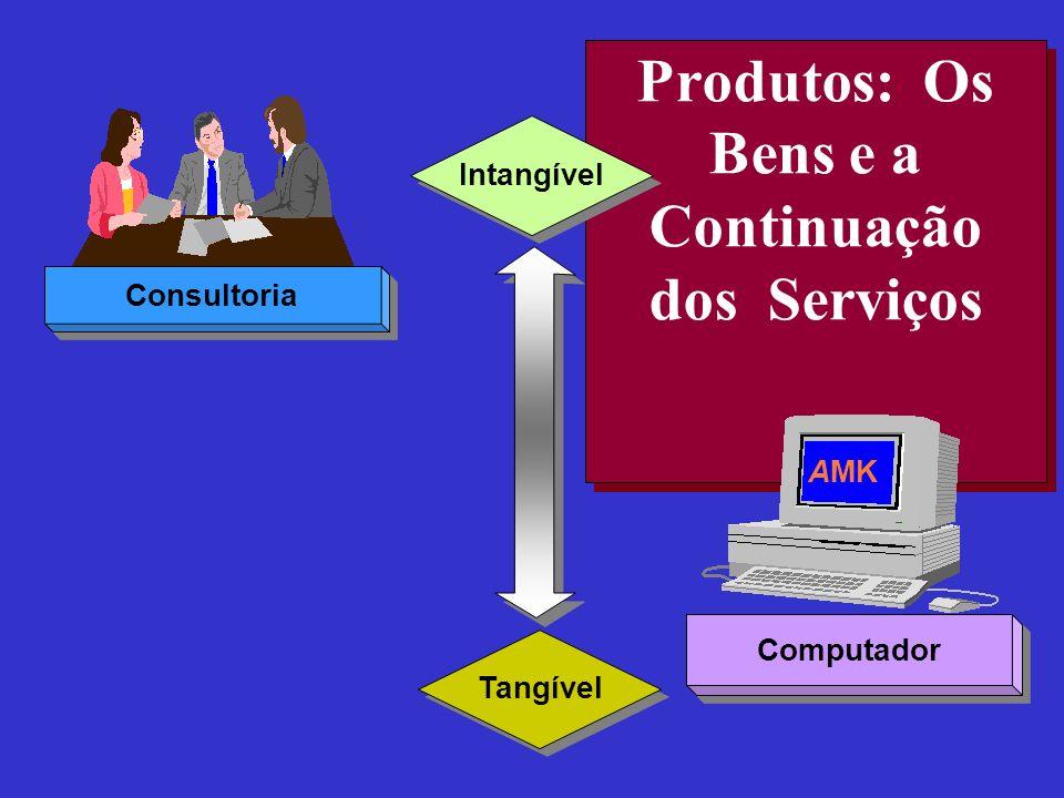 Produtos: Os Bens e a Continuação dos Serviços