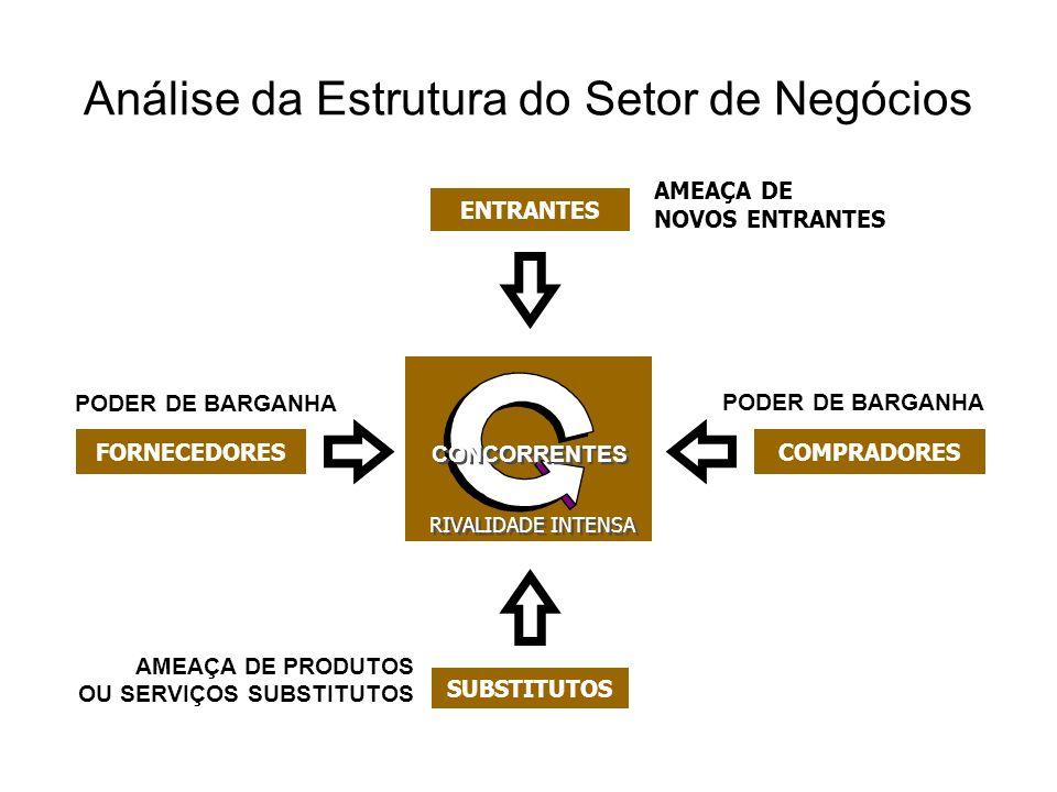 Análise da Estrutura do Setor de Negócios