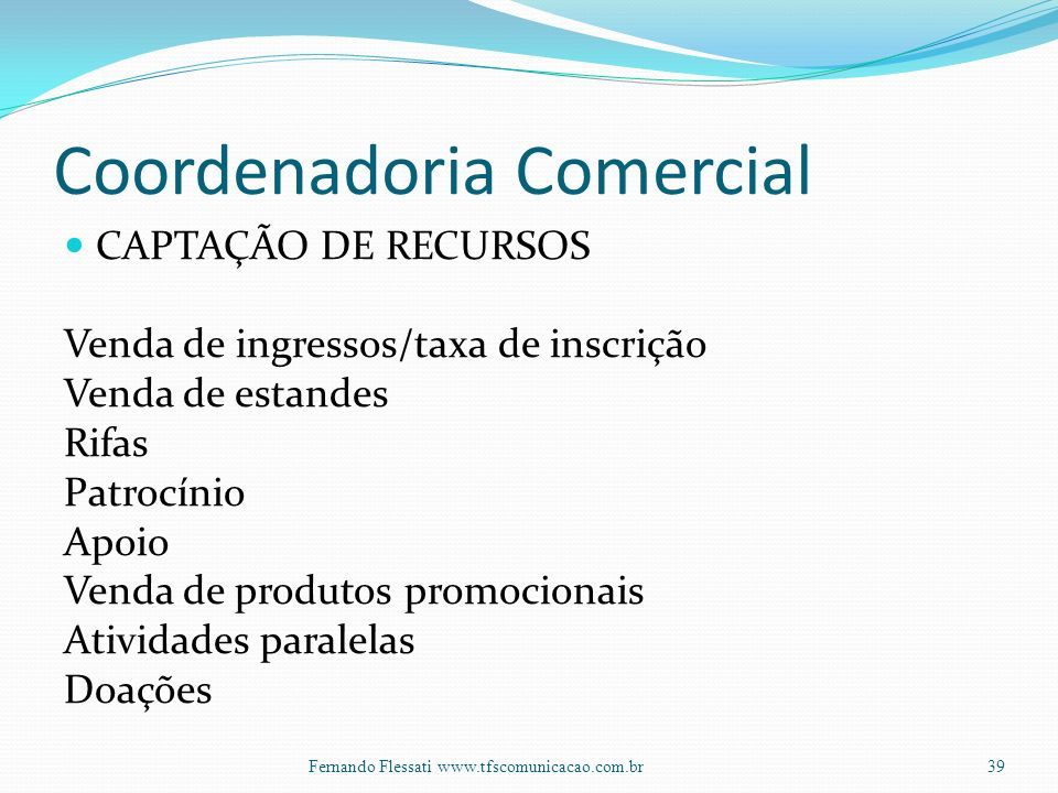Coordenadoria Comercial