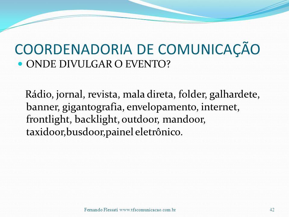 COORDENADORIA DE COMUNICAÇÃO