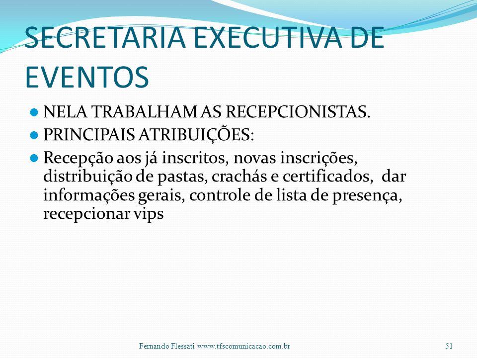 SECRETARIA EXECUTIVA DE EVENTOS