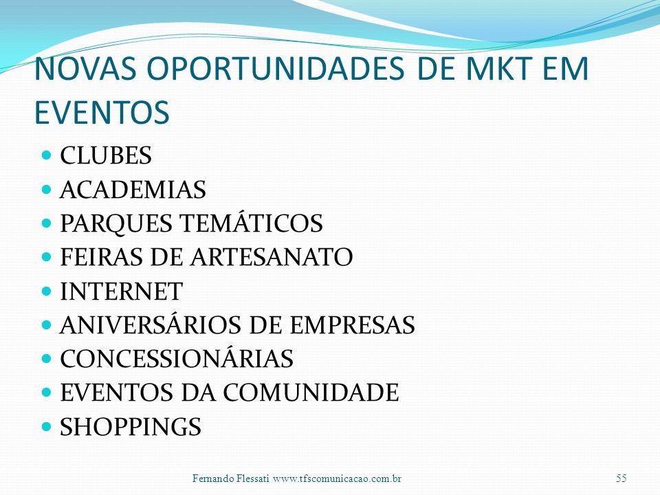 NOVAS OPORTUNIDADES DE MKT EM EVENTOS