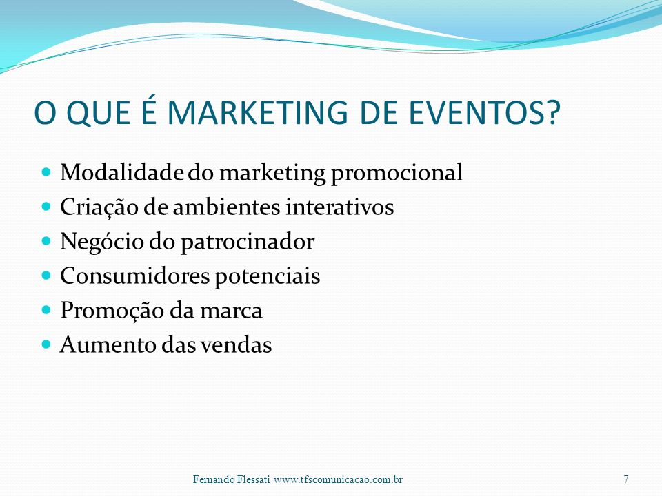 O QUE É MARKETING DE EVENTOS