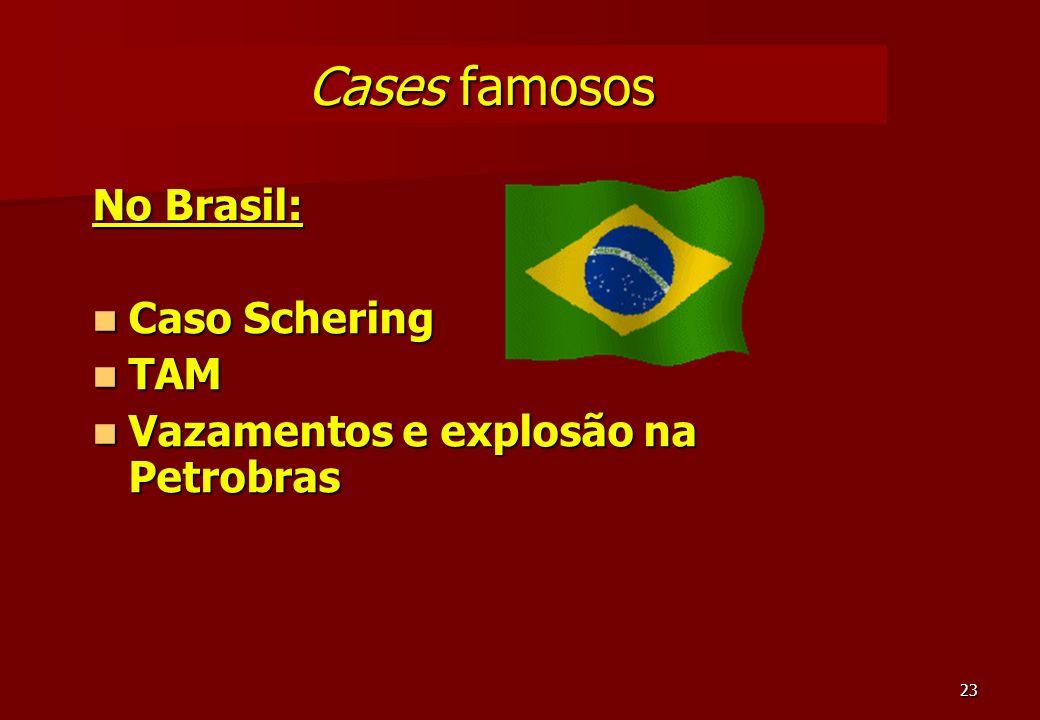 Cases famosos No Brasil: Caso Schering TAM