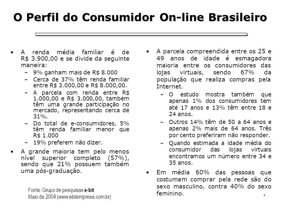 O Perfil do Consumidor On-line Brasileiro