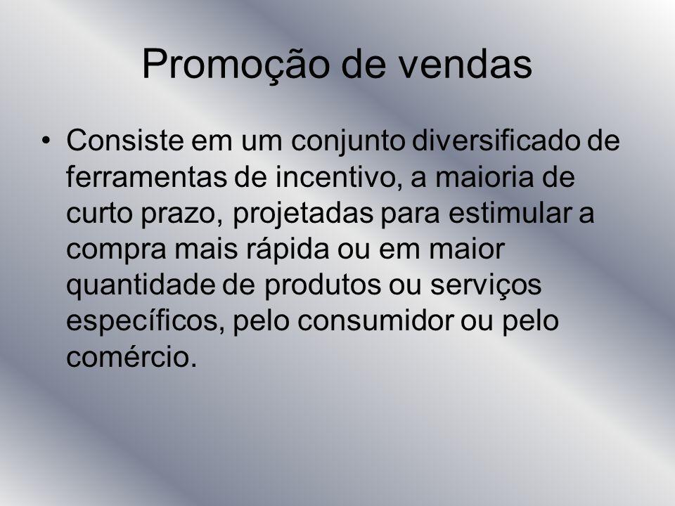 Promoção de vendas