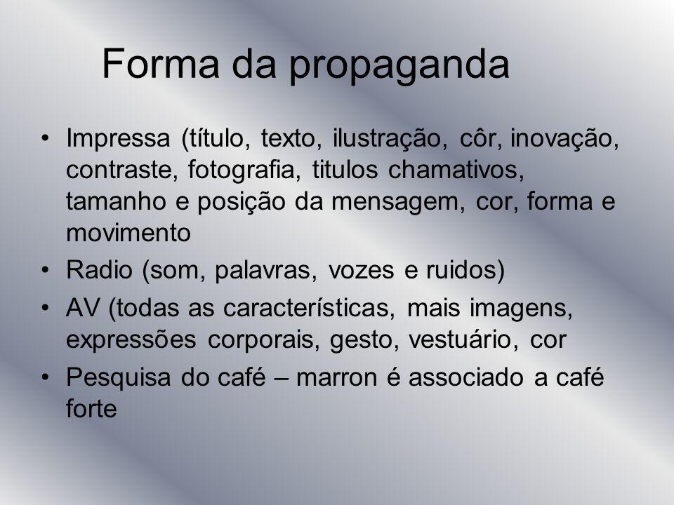 Forma da propaganda