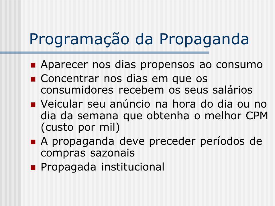 Programação da Propaganda