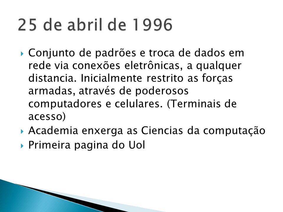25 de abril de 1996