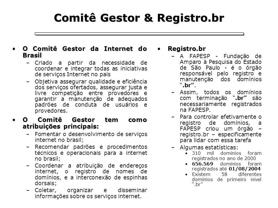 Comitê Gestor & Registro.br
