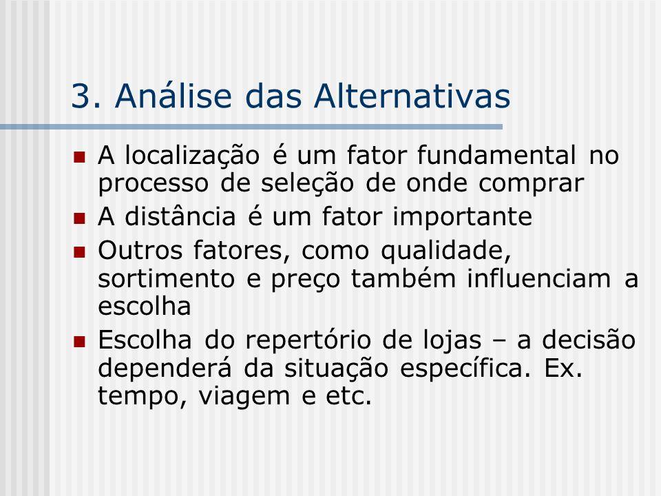3. Análise das Alternativas