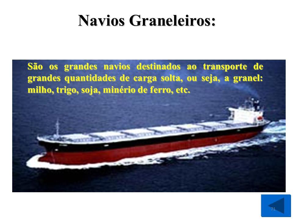 Navios Graneleiros: