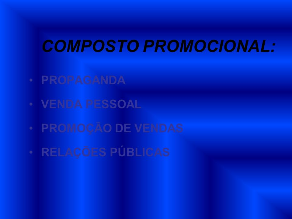 COMPOSTO PROMOCIONAL: