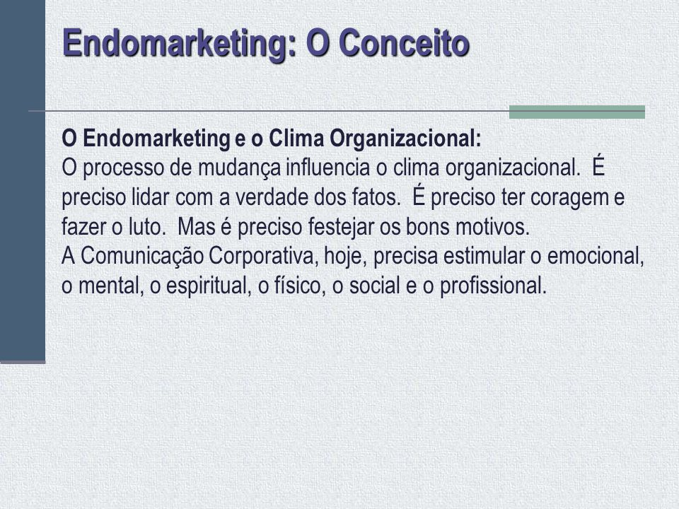 Endomarketing: O Conceito