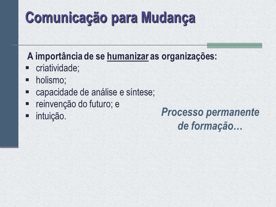 Comunicação para Mudança