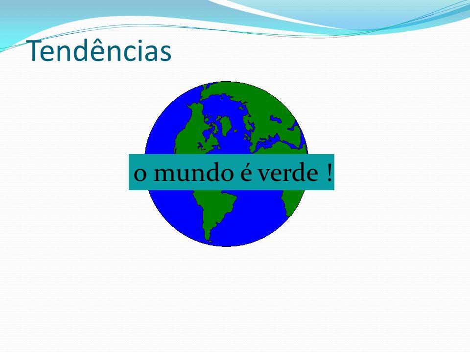 Tendências o mundo é verde !