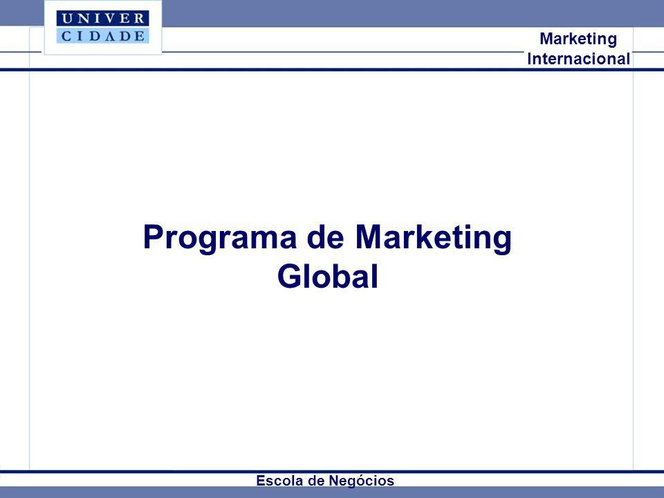 Programa de Marketing Global