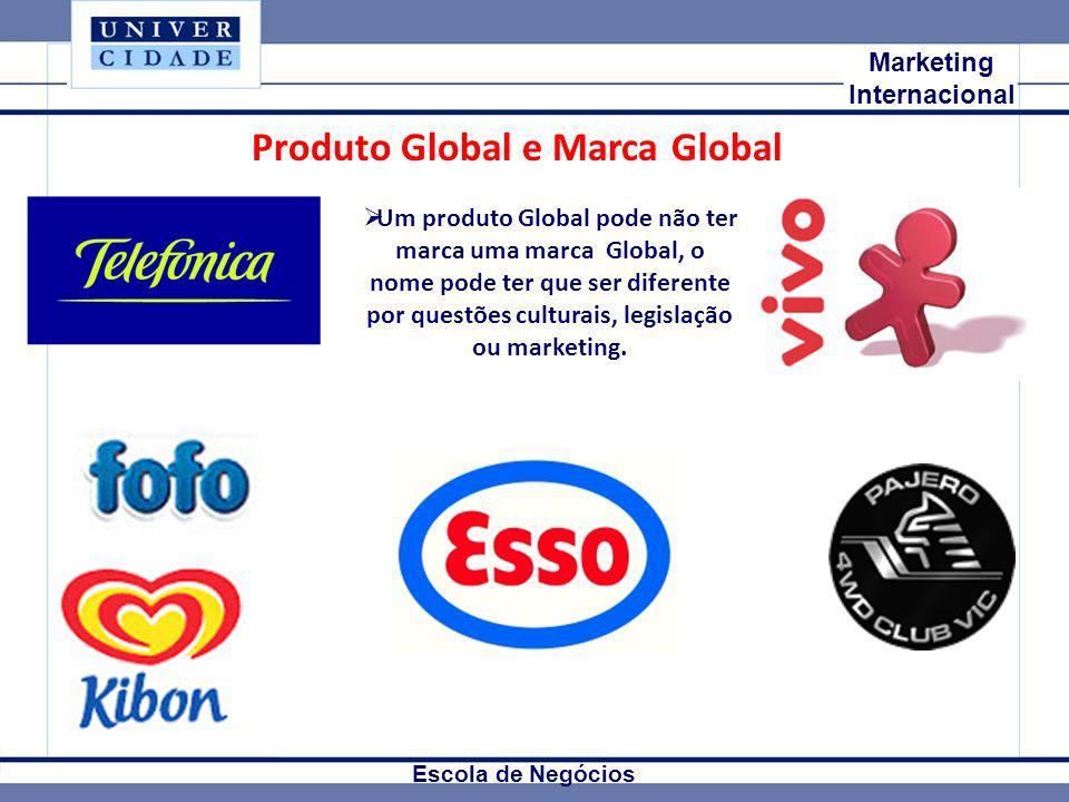 Produto Global e Marca Global