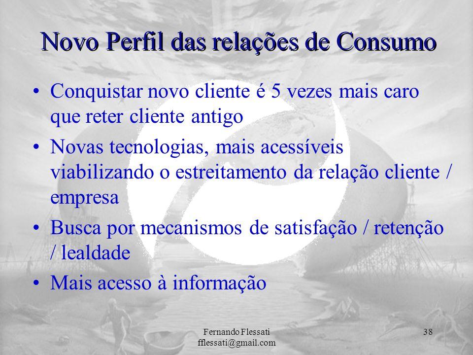 Novo Perfil das relações de Consumo