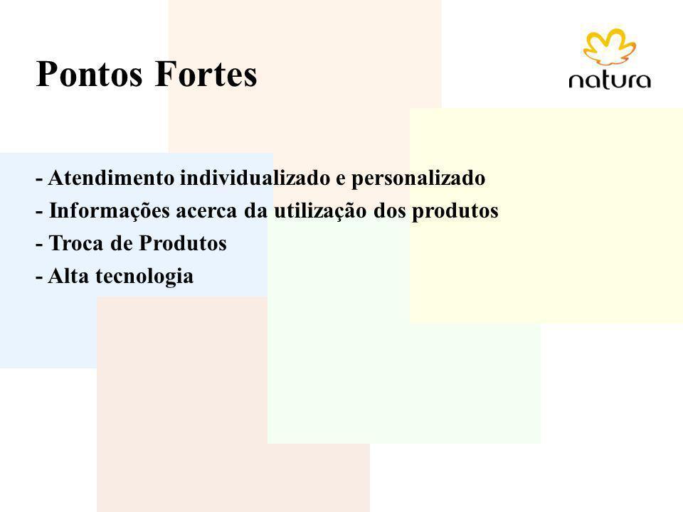 Pontos Fortes - Atendimento individualizado e personalizado