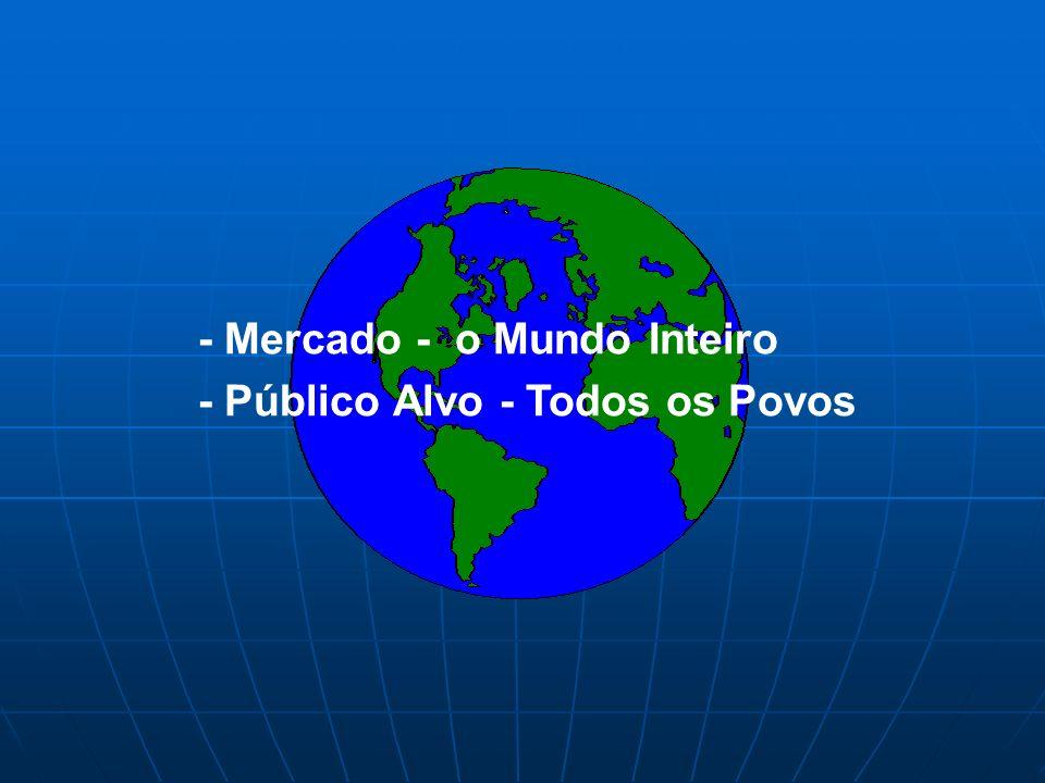 - Mercado - o Mundo Inteiro