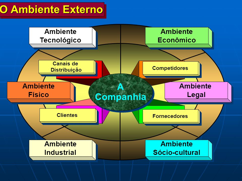 O Ambiente Externo A Companhia Ambiente Tecnológico Ambiente Econômico