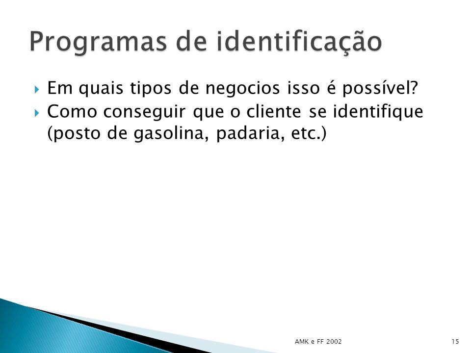 Programas de identificação