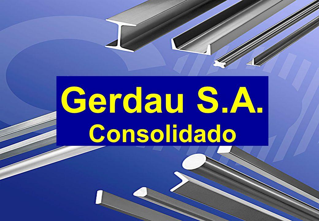 Gerdau S.A. Consolidado