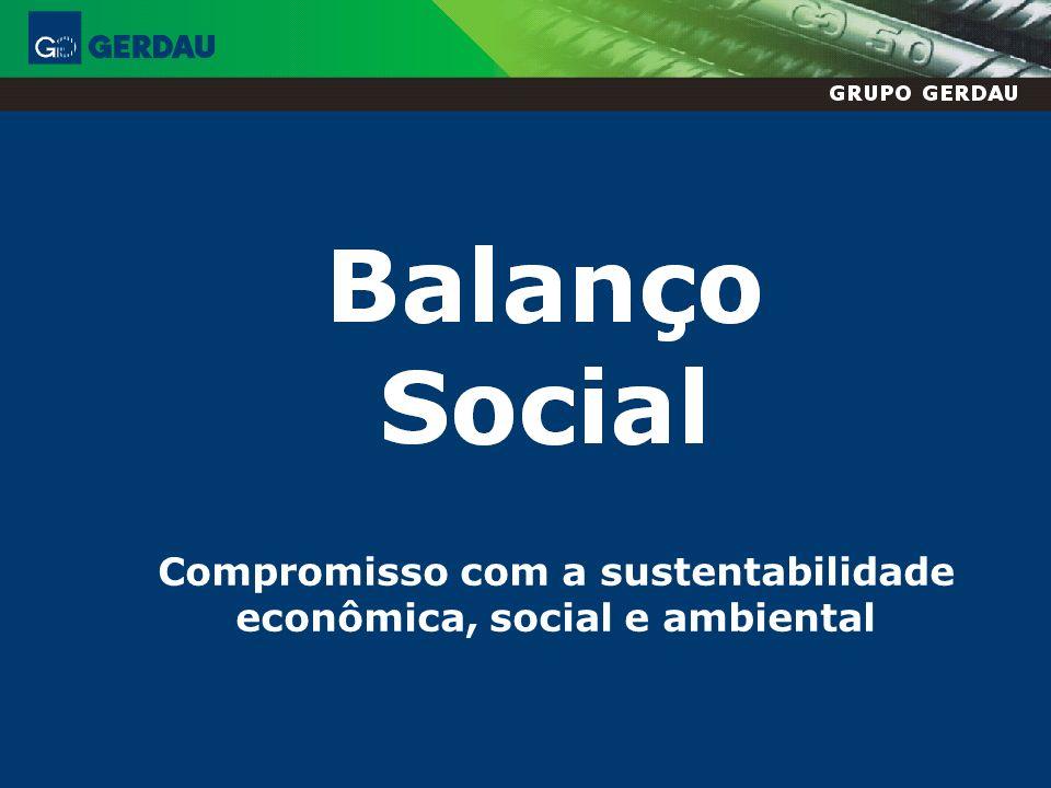 Compromisso com a sustentabilidade econômica, social e ambiental