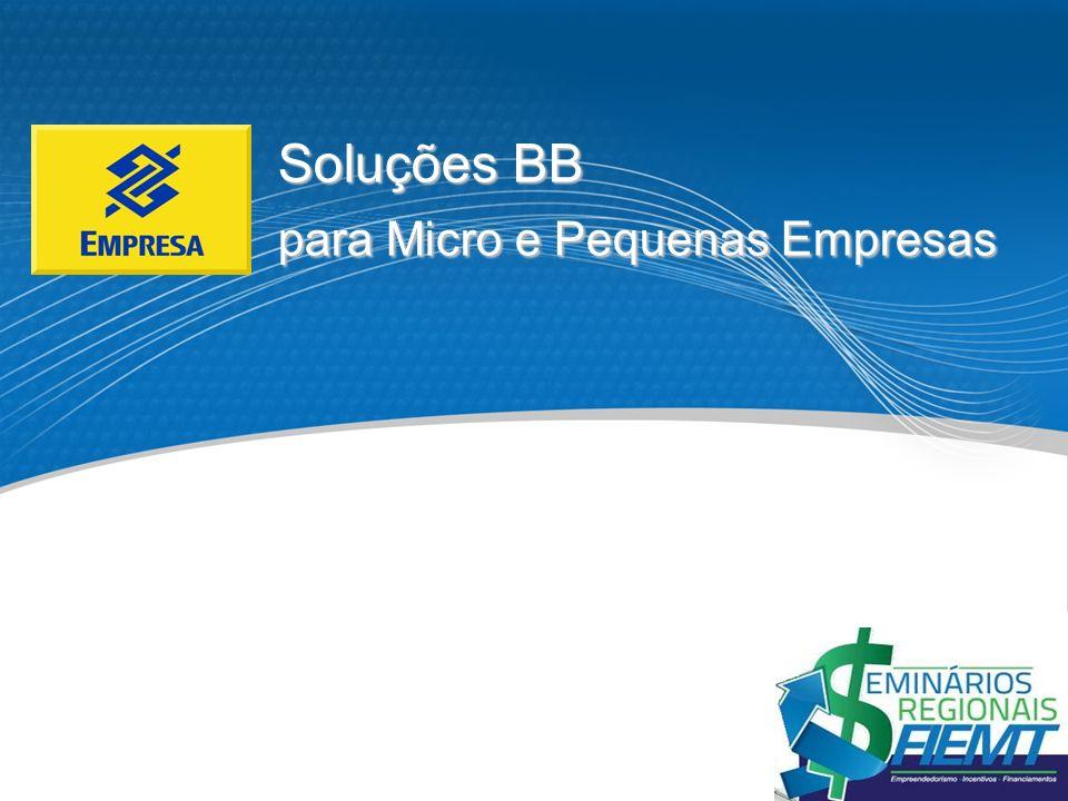 Soluções BB para Micro e Pequenas Empresas 1 1