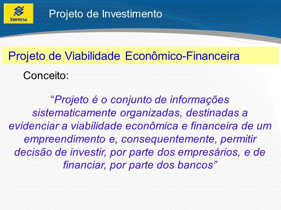 Projeto de Viabilidade Econômico-Financeira