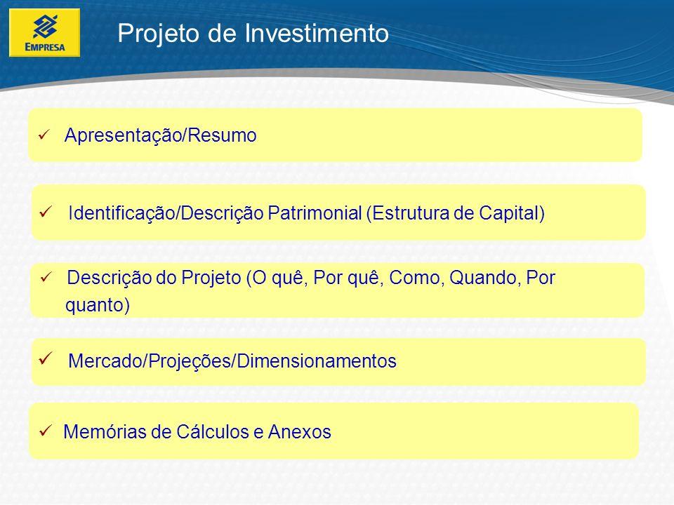 Projeto de Investimento