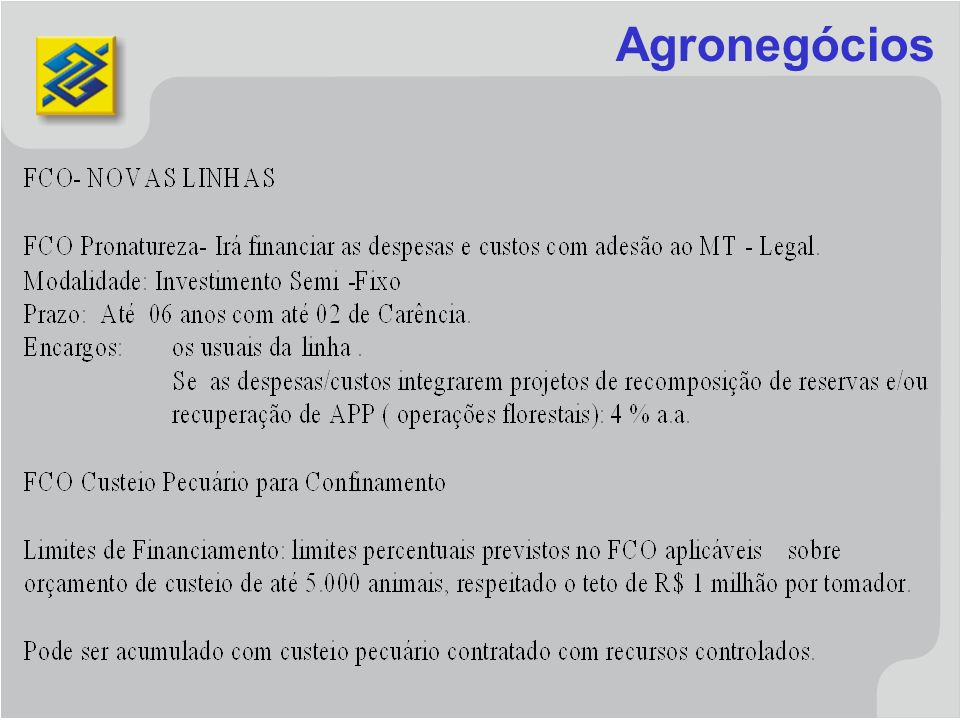 Agronegócios
