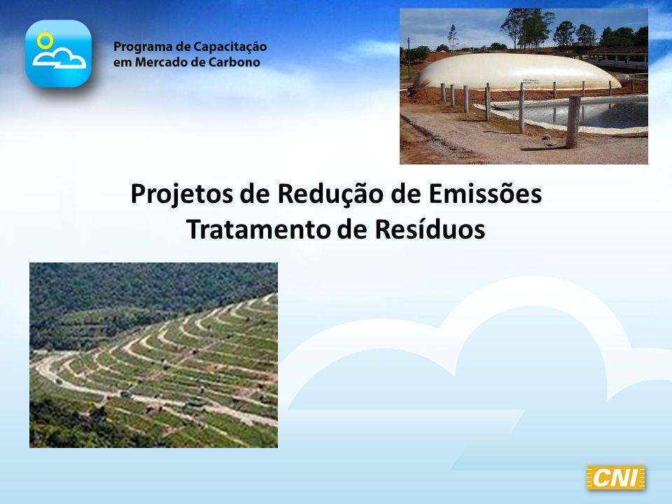 Projetos de Redução de Emissões Tratamento de Resíduos