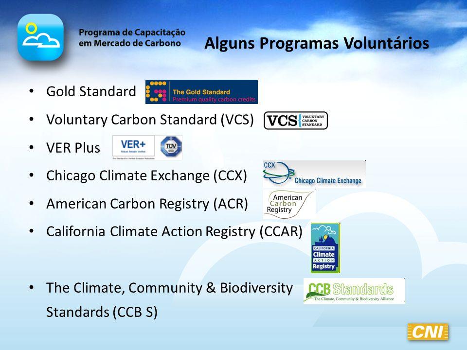 Alguns Programas Voluntários
