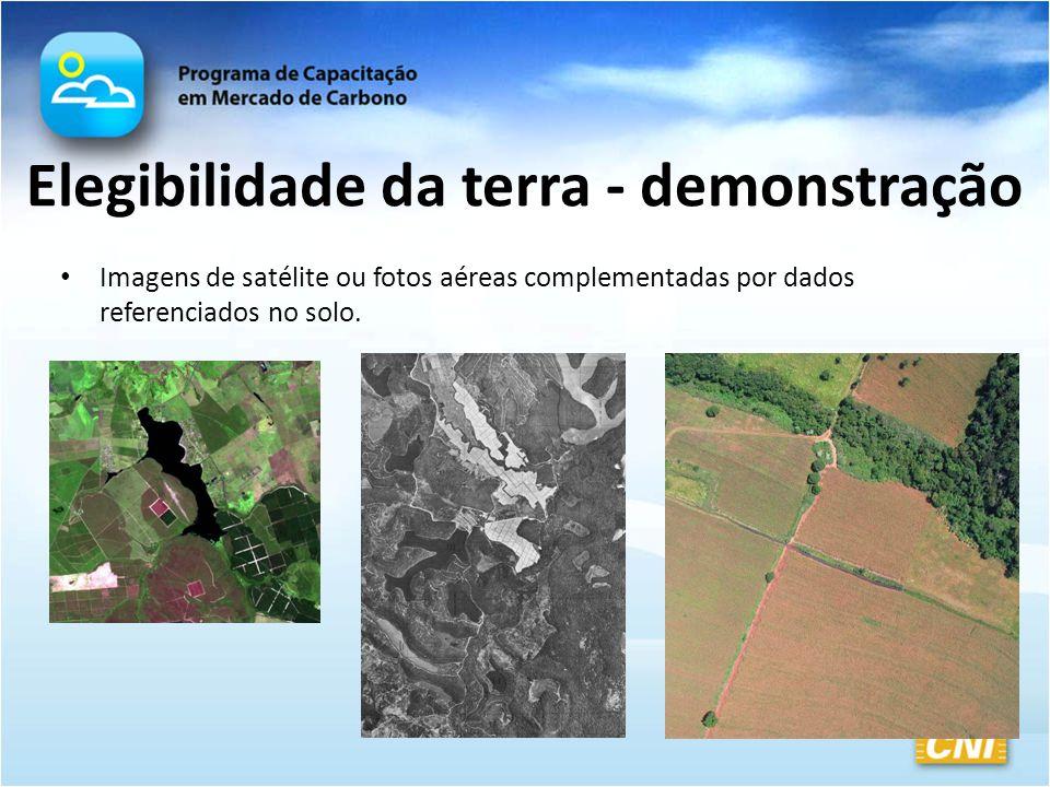 Elegibilidade da terra - demonstração