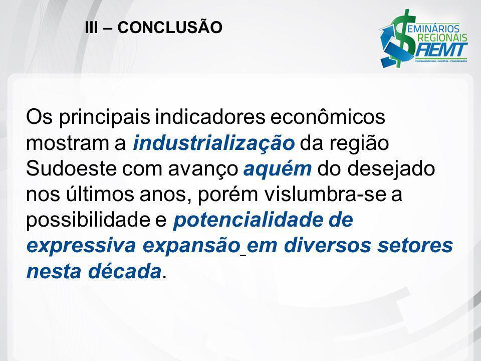 III – CONCLUSÃO