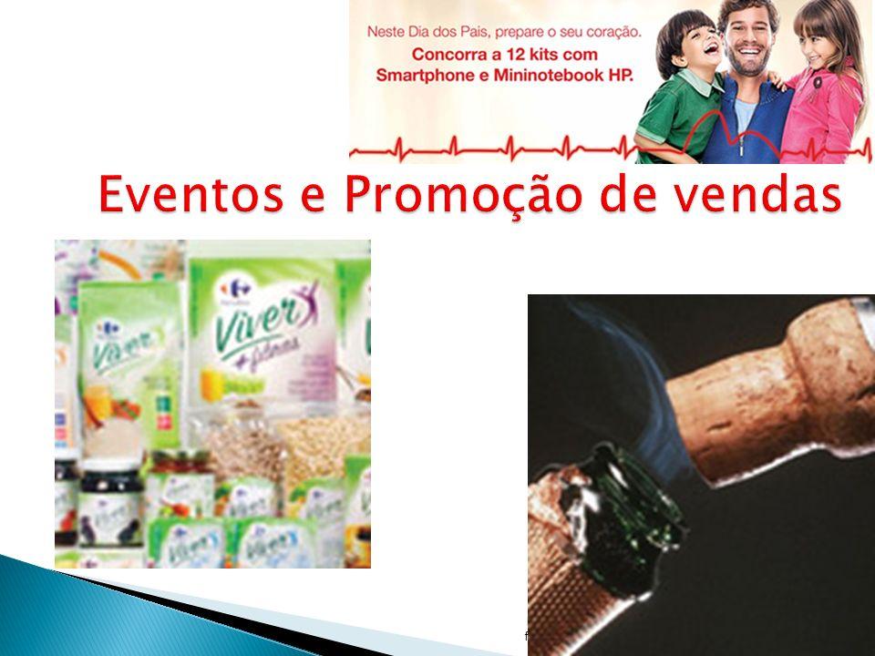 Eventos e Promoção de vendas