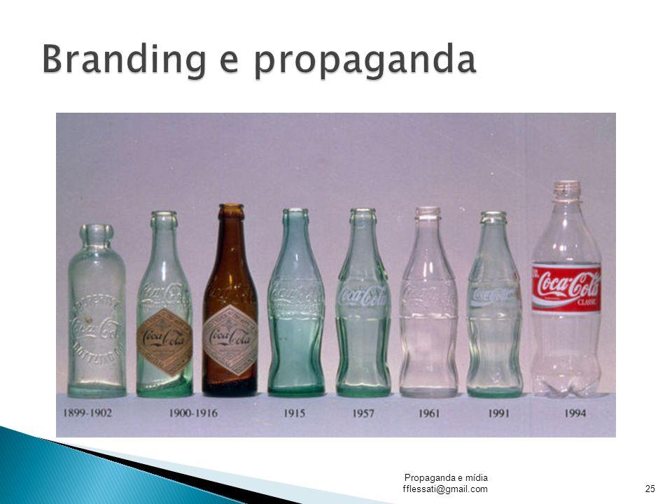 Branding e propaganda Propaganda e mídia fflessati@gmail.com