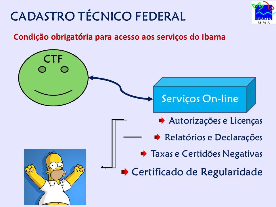 CADASTRO TÉCNICO FEDERAL