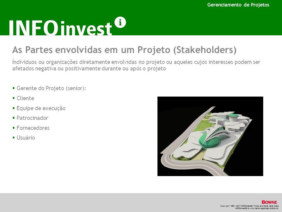 As Partes envolvidas em um Projeto (Stakeholders)