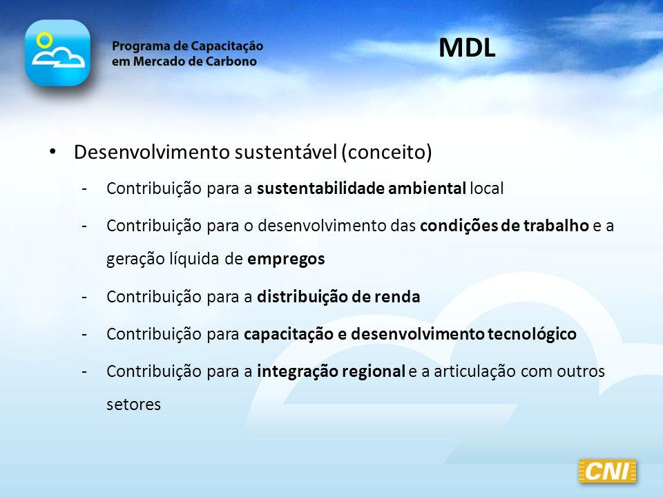 MDL Desenvolvimento sustentável (conceito)