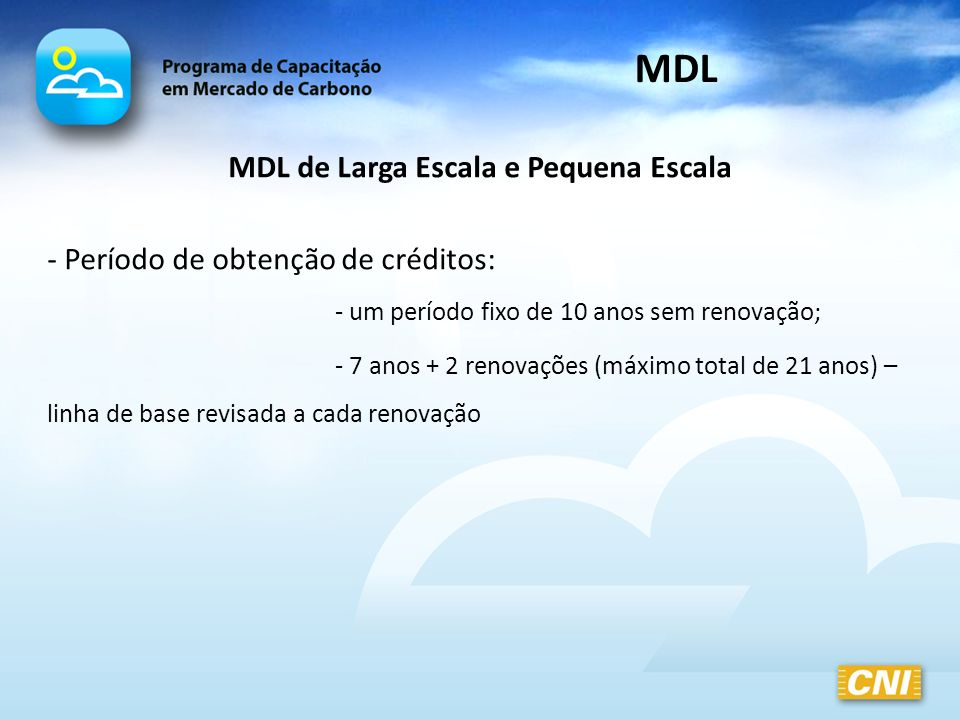 MDL de Larga Escala e Pequena Escala