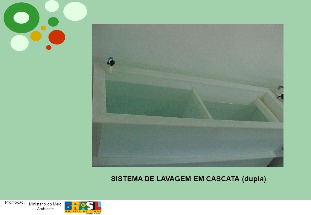 SISTEMA DE LAVAGEM EM CASCATA (dupla)
