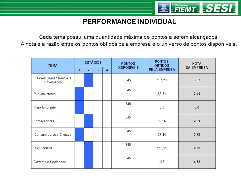 PERFORMANCE INDIVIDUAL