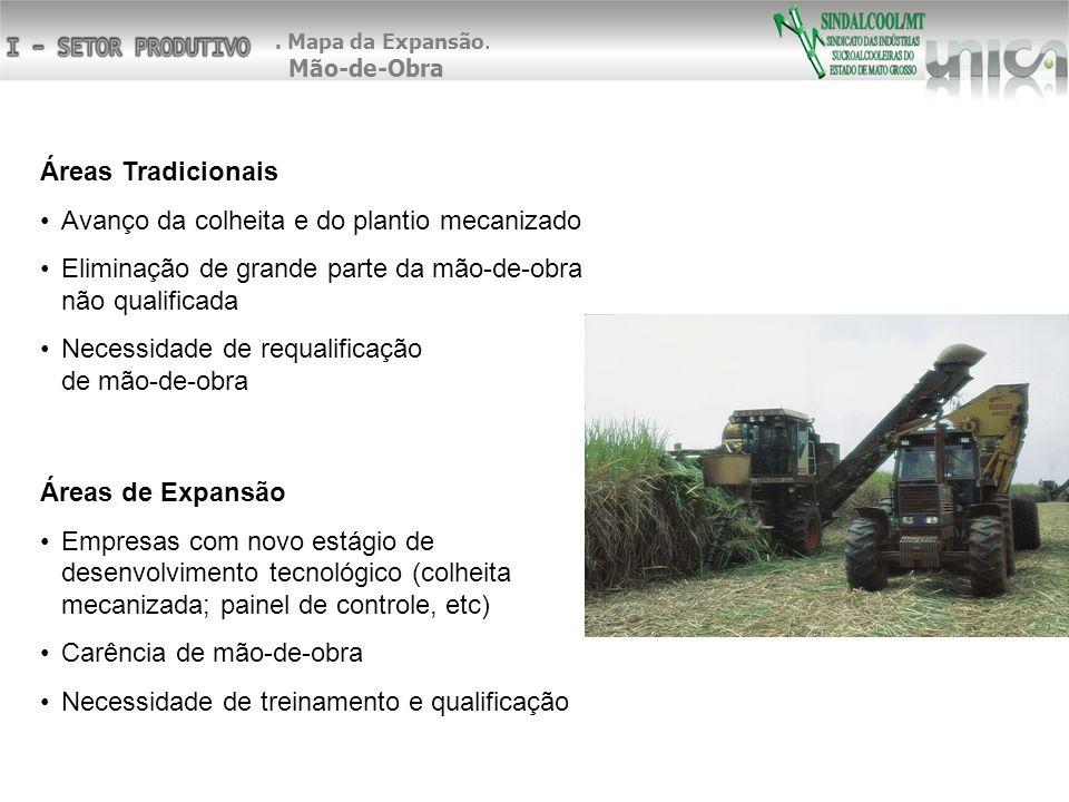 Avanço da colheita e do plantio mecanizado