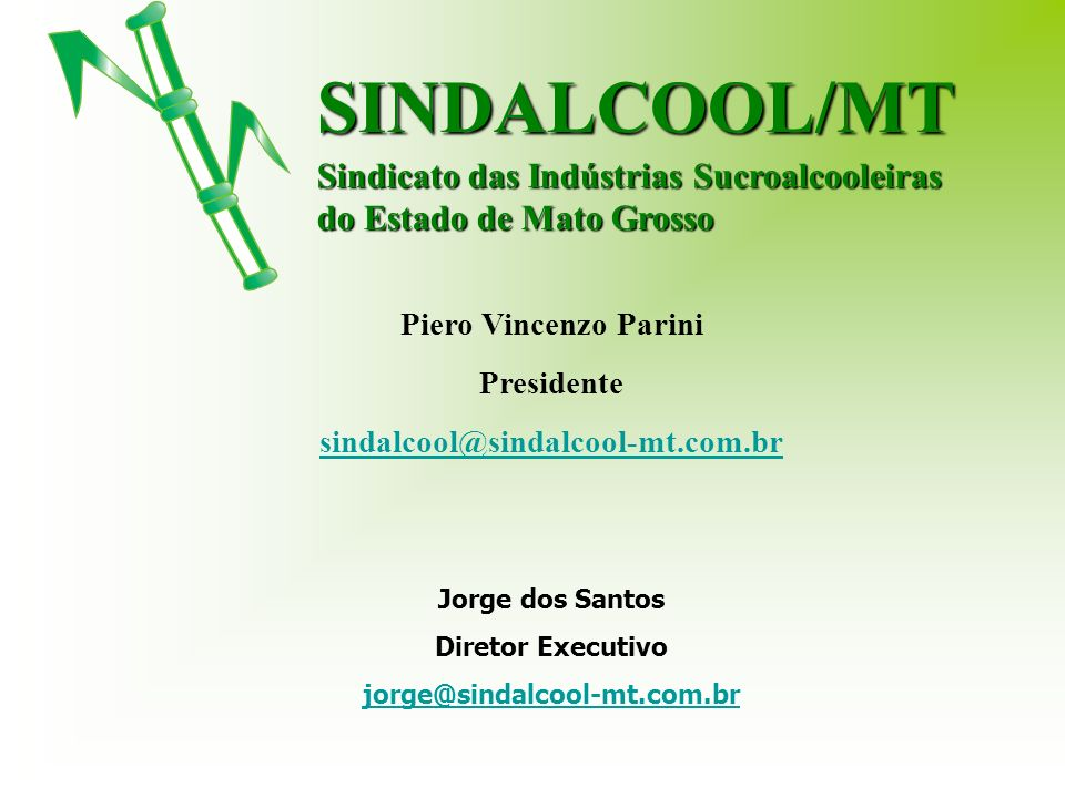 SINDALCOOL/MT Sindicato das Indústrias Sucroalcooleiras